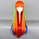 Darzzing Rainbow višebojni 75cm Punk Lolita periku