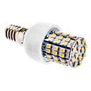 4W E14 LED klipaste žarulje T 60 SMD 3528 270 lm Toplo bijelo AC 220-240 V