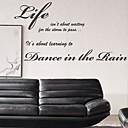Život je to, co samolepky na zeď