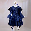 Inspirirana Pandora Hearts Alice Anime Cosplay nošnje Cosplay Suits / Dresses Jednobojni Plava Dugi rukavHaljina / Traka za kosu / Gloves