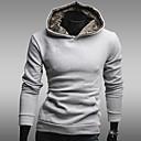 男性のパーカーフリース裏地カジュアルスウェットシャツ