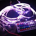RGB LED strip svjetlo Non-vodootporne 5M 5050 SMD LED 150/44 + Roll ključevi IR daljinski upravljač