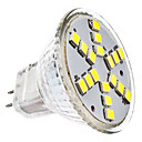 3W GU4(MR11) LEDスポットライト MR11 18 SMD 2835 230 lm クールホワイト DC 12 / AC 12 V