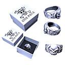 Jewelry Inspirirana One Piece Portgas D. Ace Anime Cosplay Pribor prsten Srebrna Alloy Male