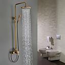 Sprchové baterie Sprinkle®  ,  tradiční  with  Starožitná mosaz Jeden kohoutek Se třemi otvory  ,  vlastnost  for Nástěnná montáž