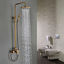 Sprinkle®シャワー水栓  ,  伝統風  with  アンティーク真鍮 シングルレバー 三つ  ,  特徴  for 壁式