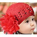 Dívčí Knit Hat Flower