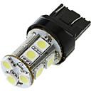 7443 T20 13 5050 SMD LED Auto Tail brzdové Zastavit Zapněte Žárovka lampa White