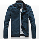 Xingke Muška Casual Stand Collar Jacket (plava)