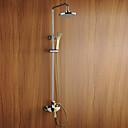 Sprchová baterie - Současné - Postranní tryska - Mosaz (Pochromovaný)
