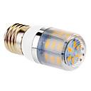 4W E26/E27 LED corn žárovky T 24 SMD 5730 360 lm Teplá bílá AC 220-240 V