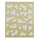 1KS Rose Pattern Svatební Nail Art samolepka