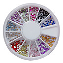 12 Boje 2mm Nail Art akril dijamanata Nail Art dekoracija