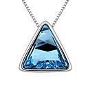 Xingzi Dámská 40cm modrá Crystal Necklace 6775