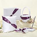 Sjaj Vjenčanje kolekcija s lentom Purple (5 komada)