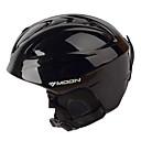 MOON Unsiex Sjajna crna jesen / zima ABS Ski / Snowboard Helmet