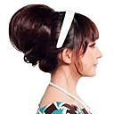 Žena Moda visoke kvalitete Bun Sintetička perika kose Produžite 3 boje Dostupno