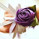 Cvijeće za vjenčanje Ručno vezani Roses Wrist Corsage Vjenčanje Party / Večernji