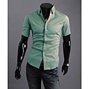 YJL s krátkým rukávem Slim Fashion Shirt