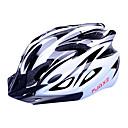 FJQXZ 女性用 / 男性用 / 男女兼用 バイク ヘルメット 18 通気孔 サイクリング サイクリング / ロードバイク M: 55-59 cm / L: 59-63 cm PC / EPS ホワイト / ブラック