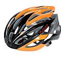 FJQXZ超軽量26ベントPC + EPSオレンジサイクリングヘルメット