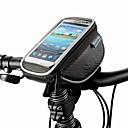 ROSWHEEL® 自転車用バッグ 1.5L携帯電話バッグ / 自転車用フロントバッグ 防塵 / タッチスクリーン / 耐衝撃性 自転車用バッグ PUレザー / ポリエステル / ポリ塩化ビニル サイクリングバッグSamsung Galaxy S4 / Iphone