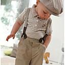 パンツ用セットと少年の幼児セット紳士トップよだれかけ