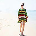 A.Shine dámská Stripe Batwing Sleeve Chiffon Halenka