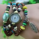 Werolex budistički Prayer Beads Ostavite lanac drvenih perla Watch WB0513061
