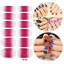 28pcs Glitter gradient rampa nail art naljepnice m serija No.103