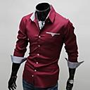 Slava ovratnik košulje Dugi rukav Classic Unutar Pokrivač dekoracija Shirt