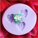 Motýl ve tvaru péct fondant bábovka, l3.5cm * w3.2m * h0.6cm