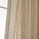 Jeden panel Window Léčba Neoklasika , Jednolitý Obývací pokoj Polyester Materiál Home dekorace For Okno