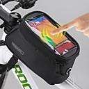 ROSWHEEL® 自転車用バッグ 1.5L携帯電話バッグ / 自転車用フレームバッグ 防水 / タッチスクリーン 自転車用バッグ ポリエステル サイクリングバッグSamsung Galaxy S4 / Samsung Galaxy S6 / Samsung Galaxy