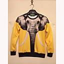 メンズファッション3Dプリントロングスリーブレジャーセーター