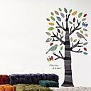 Createforlife ® Cartoon Tree Bird Djeca Dječja soba Zid naljepnica Wall Art Naljepnice