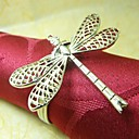 Dragonfly salvete Ring, Metal, 4cm, set od 12,
