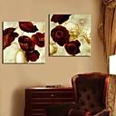 Reprodukce na plátně Art Painting Flowers sada 2 ks