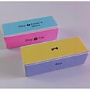 1pcs visokokvalitetan četiri strane buffer blok za poliranje i brušenje DIY manikuru noktiju alate (random boja)