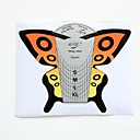 100個蝶ネイルアートフォームアクリルUVジェルのヒントガイド拡張ツール