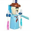 volim ratnik višenamjenski iscijediti pastu za zube Četkica za zube nositelj dozator, plastični set 3 kom slučajnim boji