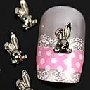 10pcs 3d DIY zec legure nail art ukras