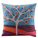 Država stil pamuka / lana dekorativni jastuk pokriti