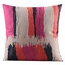 pruga četkom pamuka / lana dekorativni jastuk pokriti