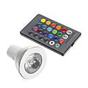 4W GU10 LED bodovky 1 150 lm R GB Ozdobné AC 85-265 V