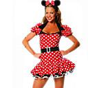 Cosplay Kostýmy / Kostým na Večírek cosplay Festival/Svátek Halloweenské kostýmy Červená Puntíky Šaty / Doplňky do vlasů Halloween Dámské