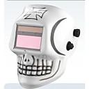 頭蓋骨太陽とAAAバッテリーミグをTIG自動遮光格闘技等級KR KC電気溶接マスク/ヘルメット/保護キャップ