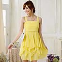 hanee ® dámské Four Seasons univerzální sexy popruh rrregular šaty