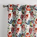 twopages® (dvije ploče) suvremena zemlja luksuzni tinte slikarstvo stil cvjetovi cvjetni zavjese