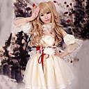 Inspirirana Vocaloid Kagamine Rin Video igra Cosplay nošnje Cosplay Suits / Dresses Kolaž Bijela Bez rukava Haljina / Šal / Rukavi